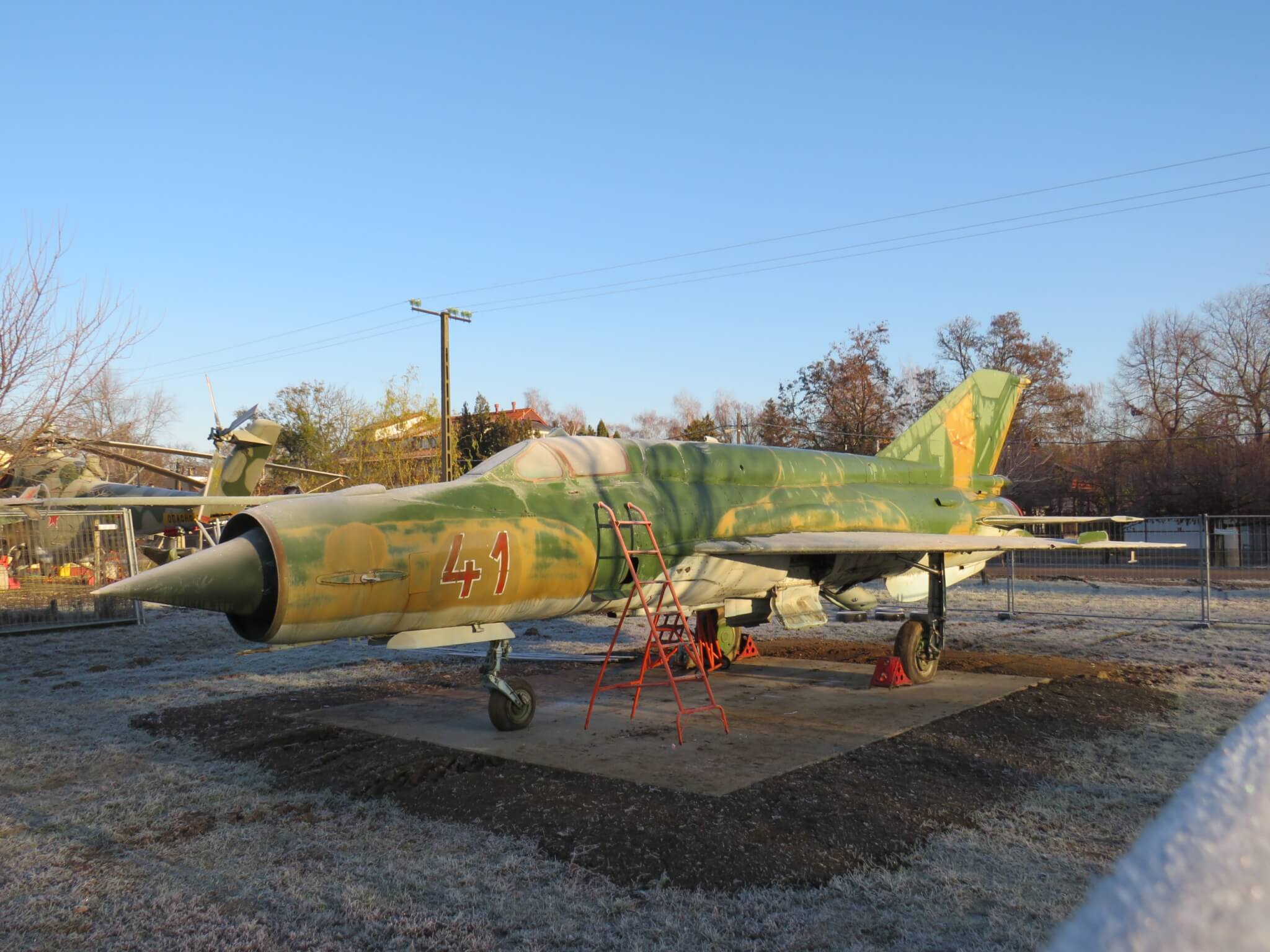 MiG-21bis '41', aquired by the museum on November 30, 2019