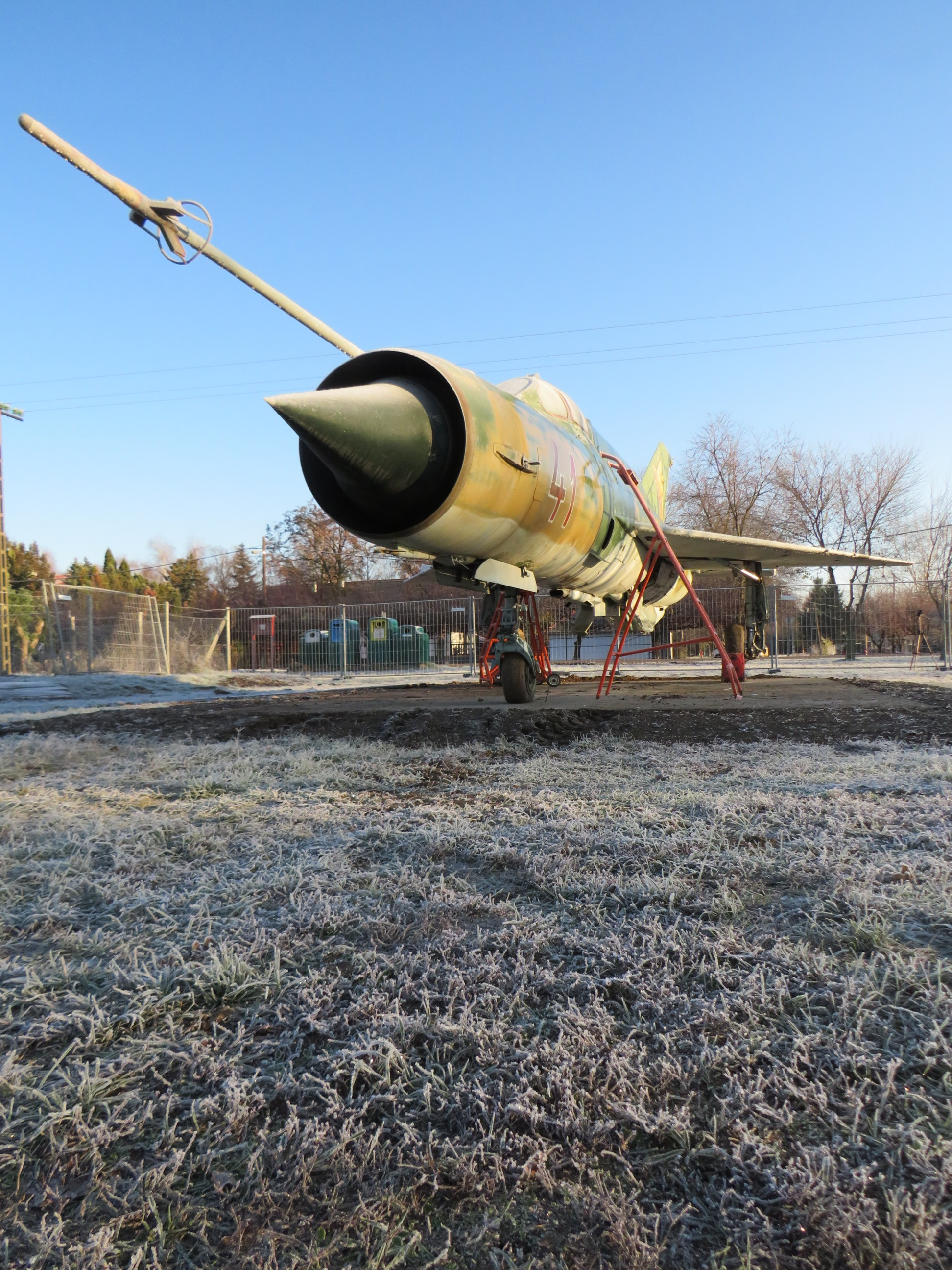The airframe is soon to be restored